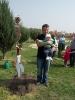 Faültetés újszülöttek tiszteletére
