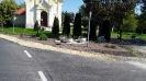 Megszépült a katolikus templom előtti terület